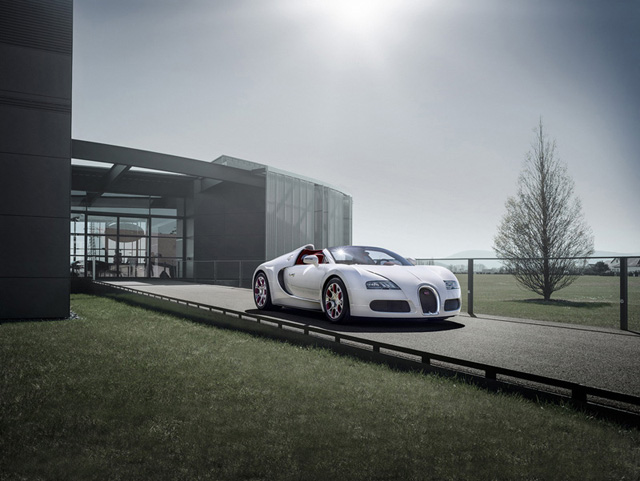 Bugatti Veyron Grand Sport Wei Long and Vitesse