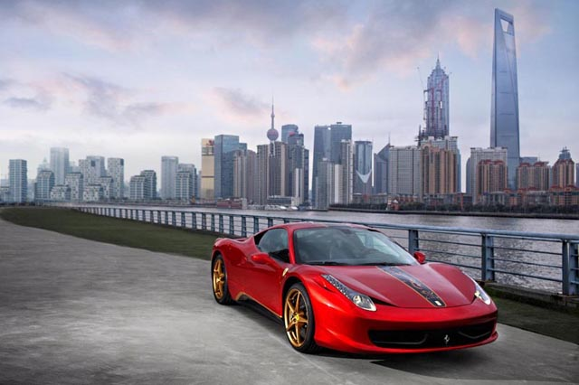 Ferrari 458 20th anniversary edition