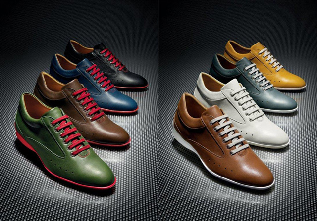 The new John Lobb Winner Sport Shoes for Aston Martin