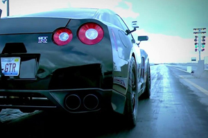 Watch the AMS Alpha Omega GT-R set a World Record!