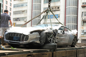 Friday Fail: The Aston Martin One-77 Crash