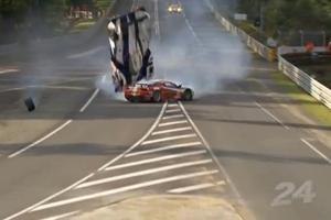 Anthony Davidson Crash