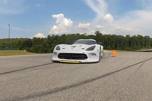 Watch the 2013 SRT Viper GTS-R Rip up VIR