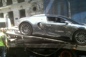 Friday FAIL Bugatti Towed