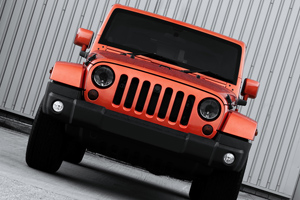 The Copper-Colored Jeep Wrangler Military Edition by Chelsea Truck Company