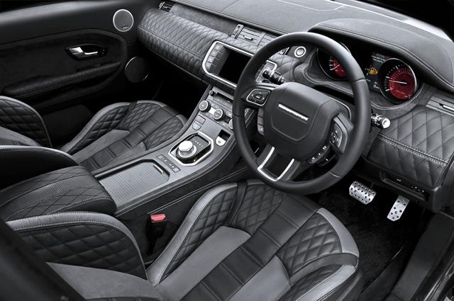 Kahn Tungsten Range Rover Evoque RS250 Interior