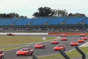 Watch 60 Ferrari F40s set a World Record