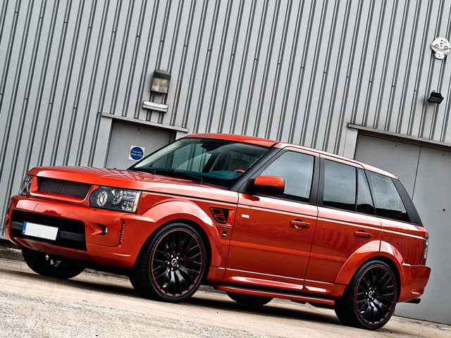 Copper Metallic Range Rover RS600
