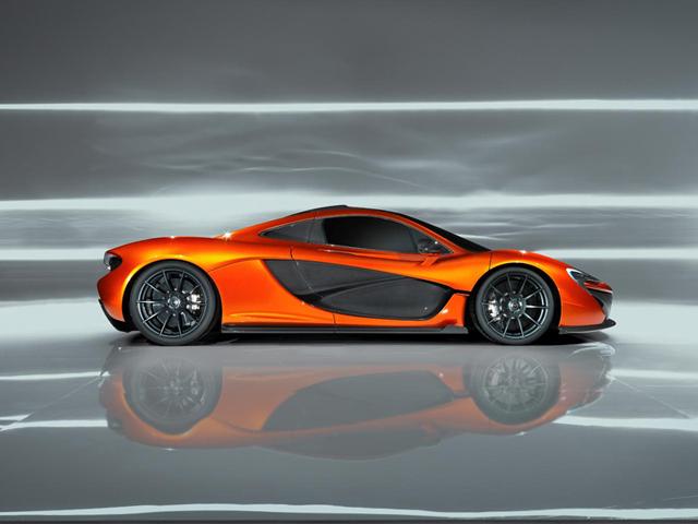 McLaren P1 Design Study