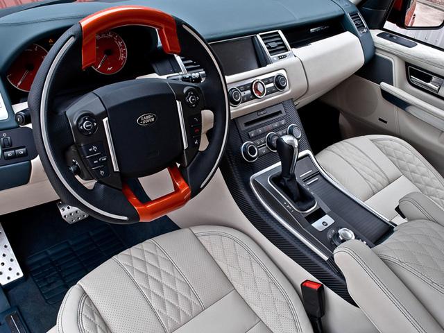 Copper Metallic Range Rover RS600