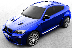 A Kahn Design BMW X6 Wide Track Preview
