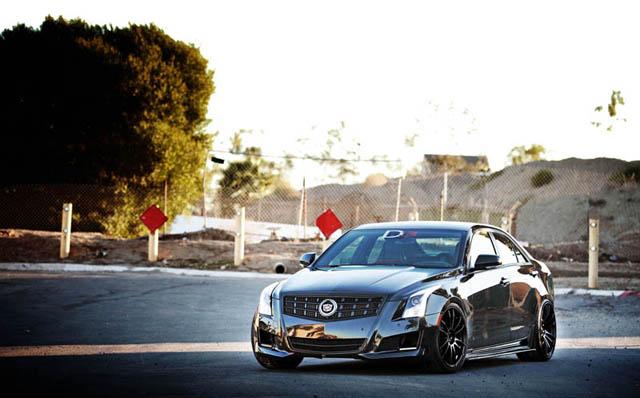 Cadillac ATS aftermarket suspension