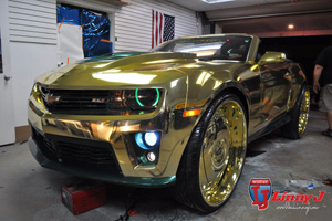The Gold ZL1 Camaro - King ZL1