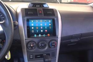 iPad Mini Dashboard