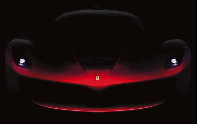 Ferrari F70 Rear Teaser