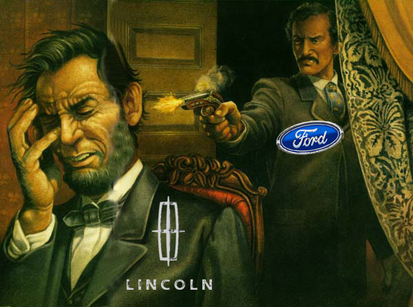 Lincoln Assasination Ford