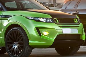 Kahn Evoque RS250 Lambo Green