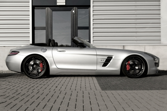 WheelsandMore Supercharged SLS AMG Roadster