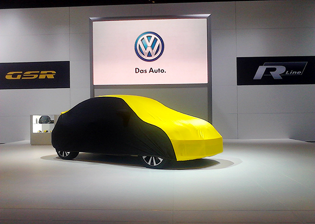 Volkswagen Beetle GSR at the Chicago Auto Show