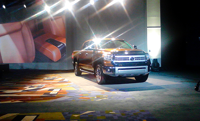 2014 Toyota Tundra at the Chicago Auto Show