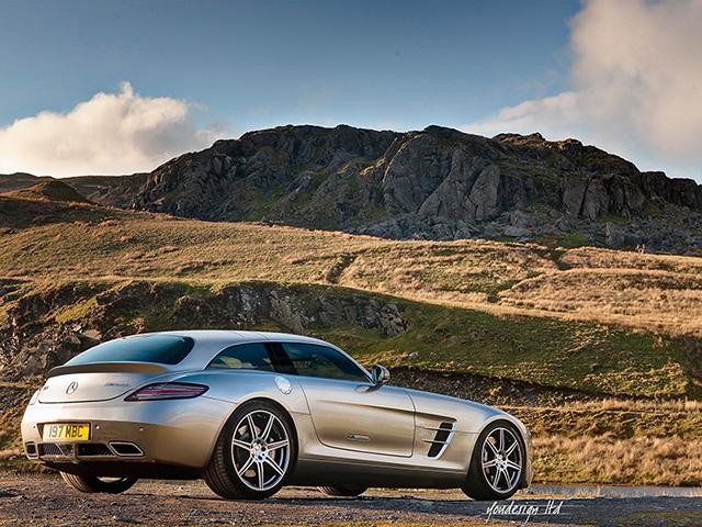 Mercedes SLS AMG Shooting Brake