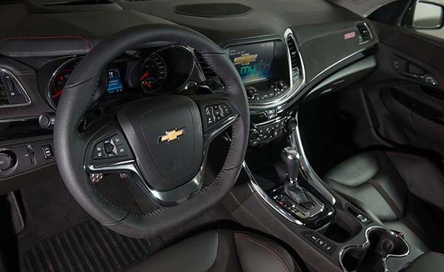 2014 Chevy SS Interior