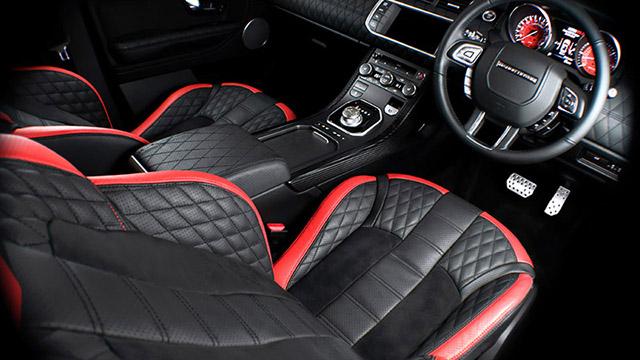 Fuji White RS250 Evoque Interior