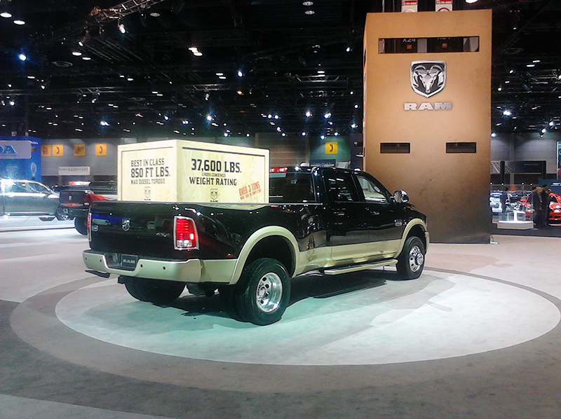 RAM at the 2013 Chicago Auto Show