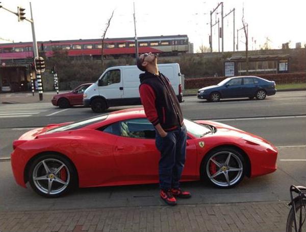 Afrojack Ferrari 458 Italia