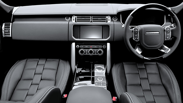 A Kahn Design Range Rover Vogue Interior