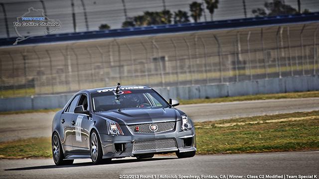 2013 Cadillac Challenge