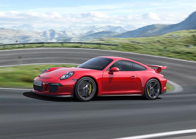 2014 Porsche 991 911 GT3