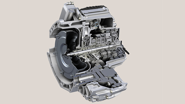 ZF 9HP Transmission