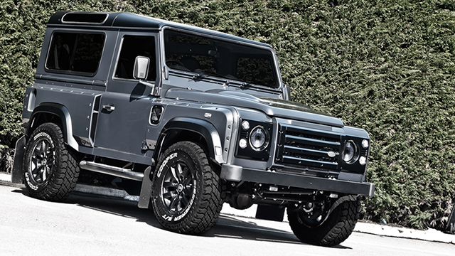 Military Grey Defender Wide Track