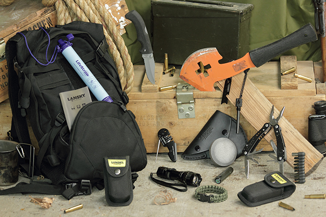 Lansky Sharpeners Tactical Apocalypse Survival Kit