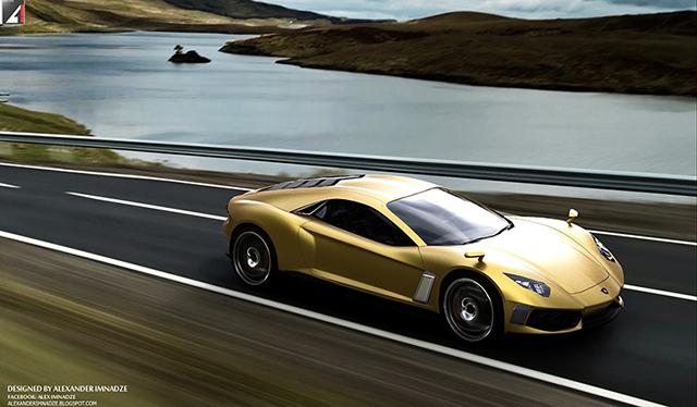 Lamborghini Miura Concept GT