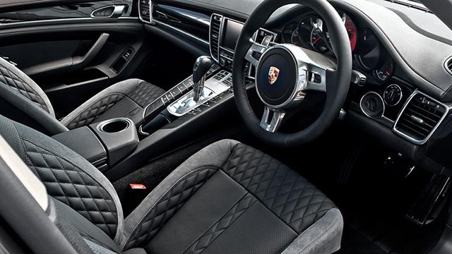 A Kahn Design Porsche Panamera Diesel