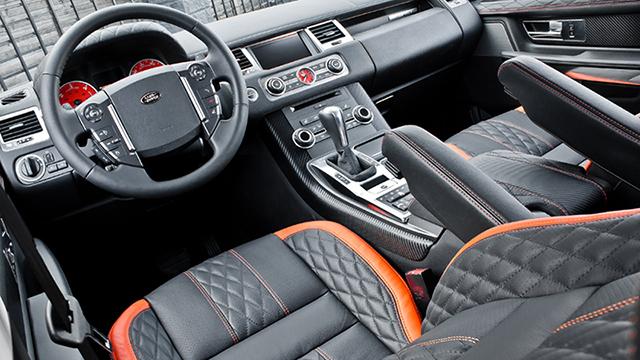 Santorini Black RS600 Range Rover Cosworth