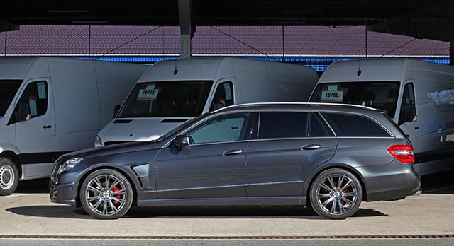 E350 CDI T by KTW Tuning