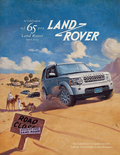 Land Rover 65th