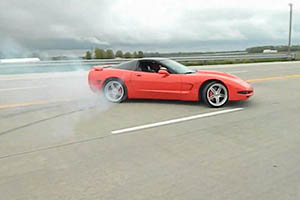 Friday FAIL Corvette Drift