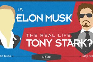 Tony Stark Elon Musk