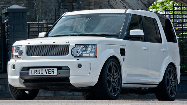 Land Rover Discovery RS300 by A Kahn Design