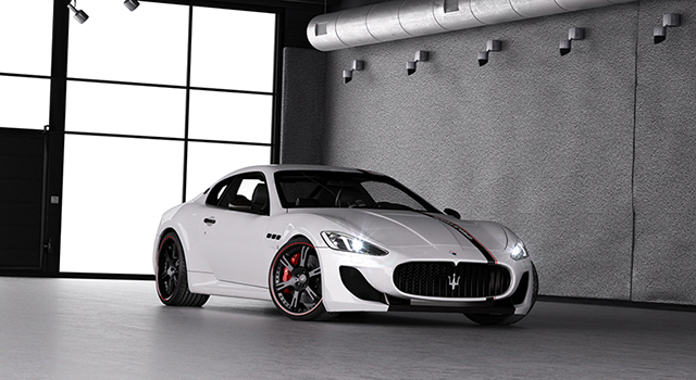 WheelsandMore Maserati GranTurismo MC Stradale Demonoxious WheelsandMore GranTurismo MC Stradale Demonoxious