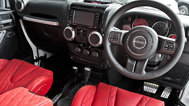 Chelsea Truck Company CJ300 Wrangler Interior