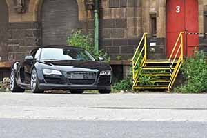 OK-Chiptuning Phantom Black Audi R8
