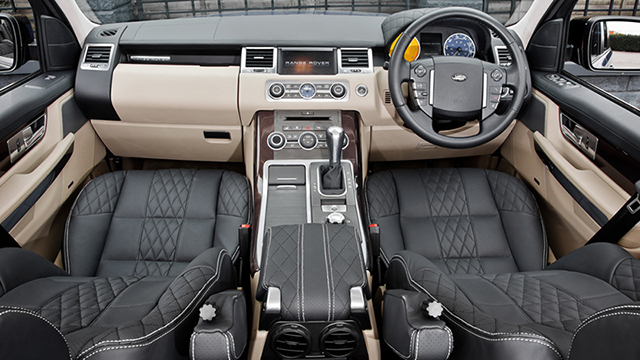 A Kahn Design Range Rover RS300 Cosworth