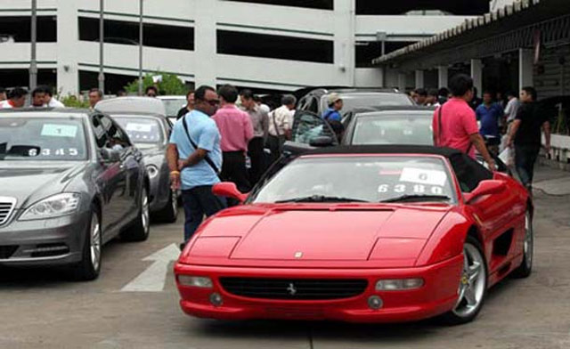 Thai Customs Department Seized Cars