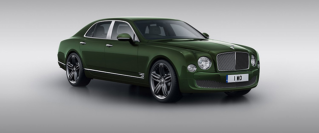 Bentley Mulsanne Le Mans Edition