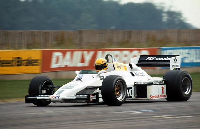 Senna Testing F1